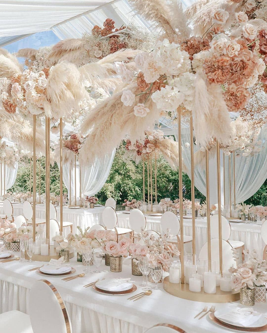 Wedding Chicks On Instagram Soft Airy Decor For Your