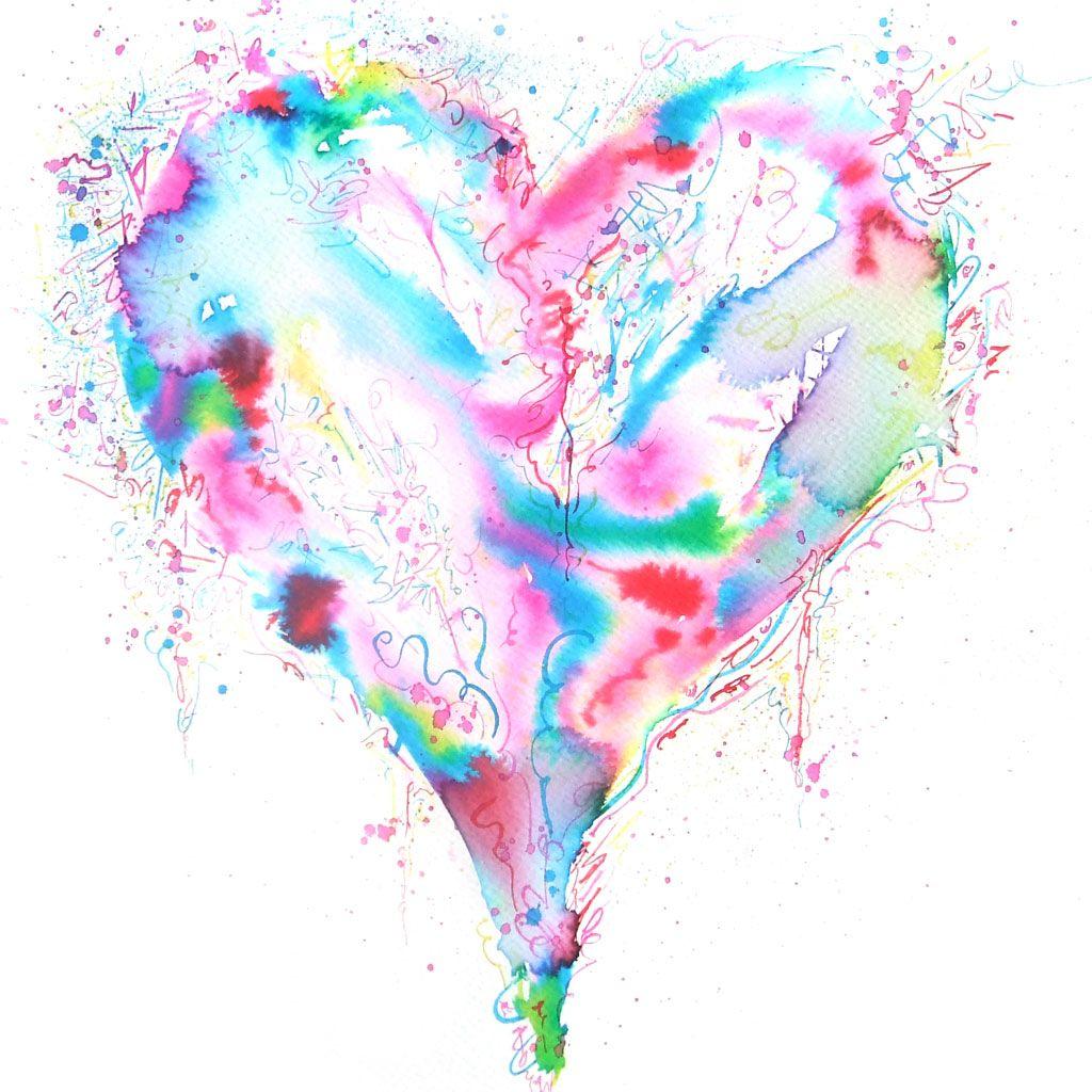 Abstract Human Heart Art Abstract Human Heart Art Hearts