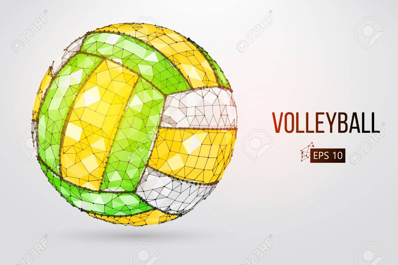 Silhouette Of A Volleyball Ball Vector Illustration Ad Volleyball Silhouette Ball Illustration Vector Vector Illustration Illustration Character