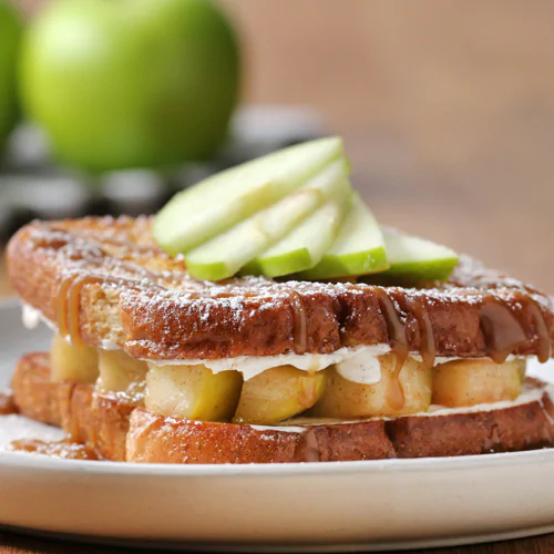 Caramel Apple-Stuffed French Toast - Kroger