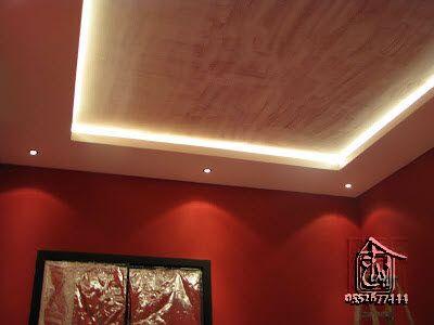 إبداع التصاميم للمقاولات والديكور إضاءة سبوت لايت Led Lighting إضاءة ألياف ضوئية Ceiling Design Led Lights Design