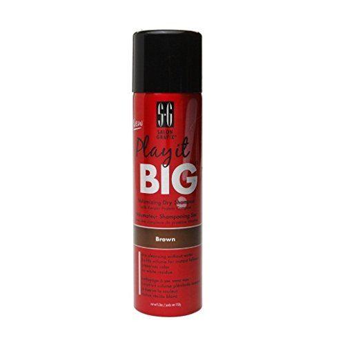 Salon Grafix Play It Big Volumizing Dry Shampoo Read More Reviews Of The Product By Visiting The Link On The Imag Dry Shampoo Dry Shampoo Hairstyles Shampoo