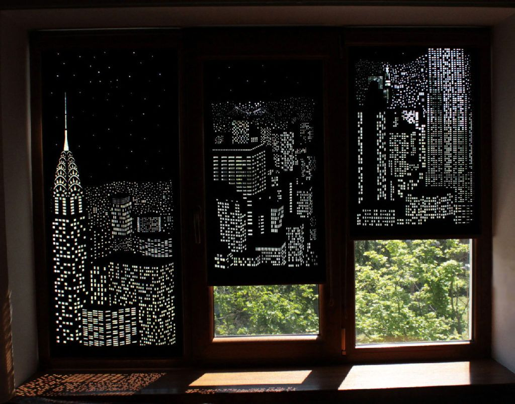 these modern blackout curtains capture night sky in world's  - these modern blackout curtains capture night sky in world's grandestcities  inspiremore
