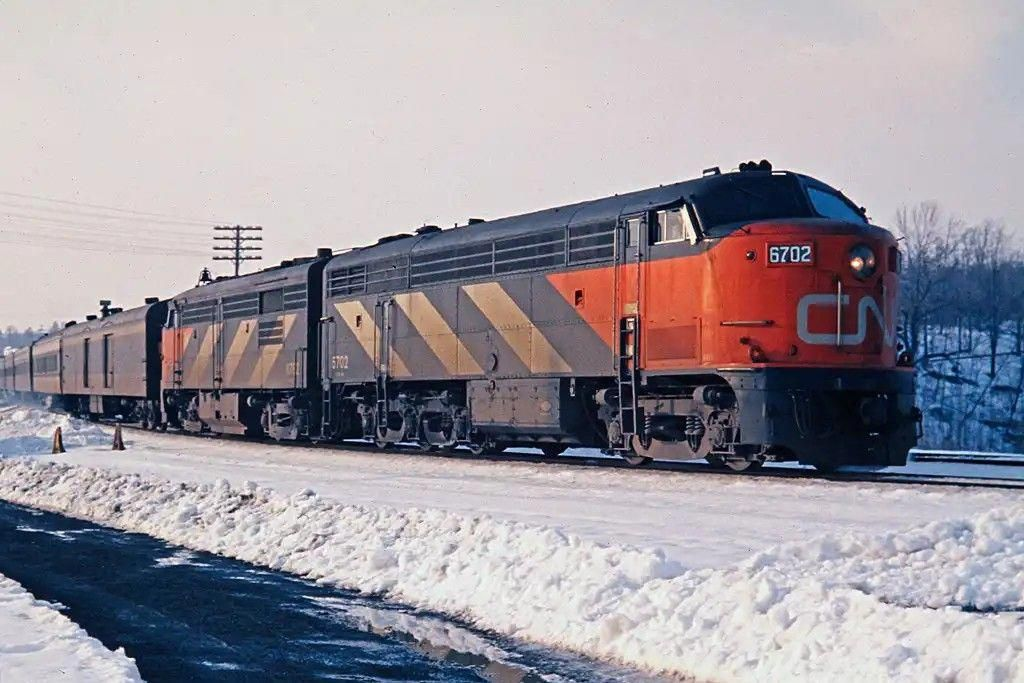 Pin By Joseph Lauria On Trains Canadian National Railway Railroad Photos New York Central Railroad