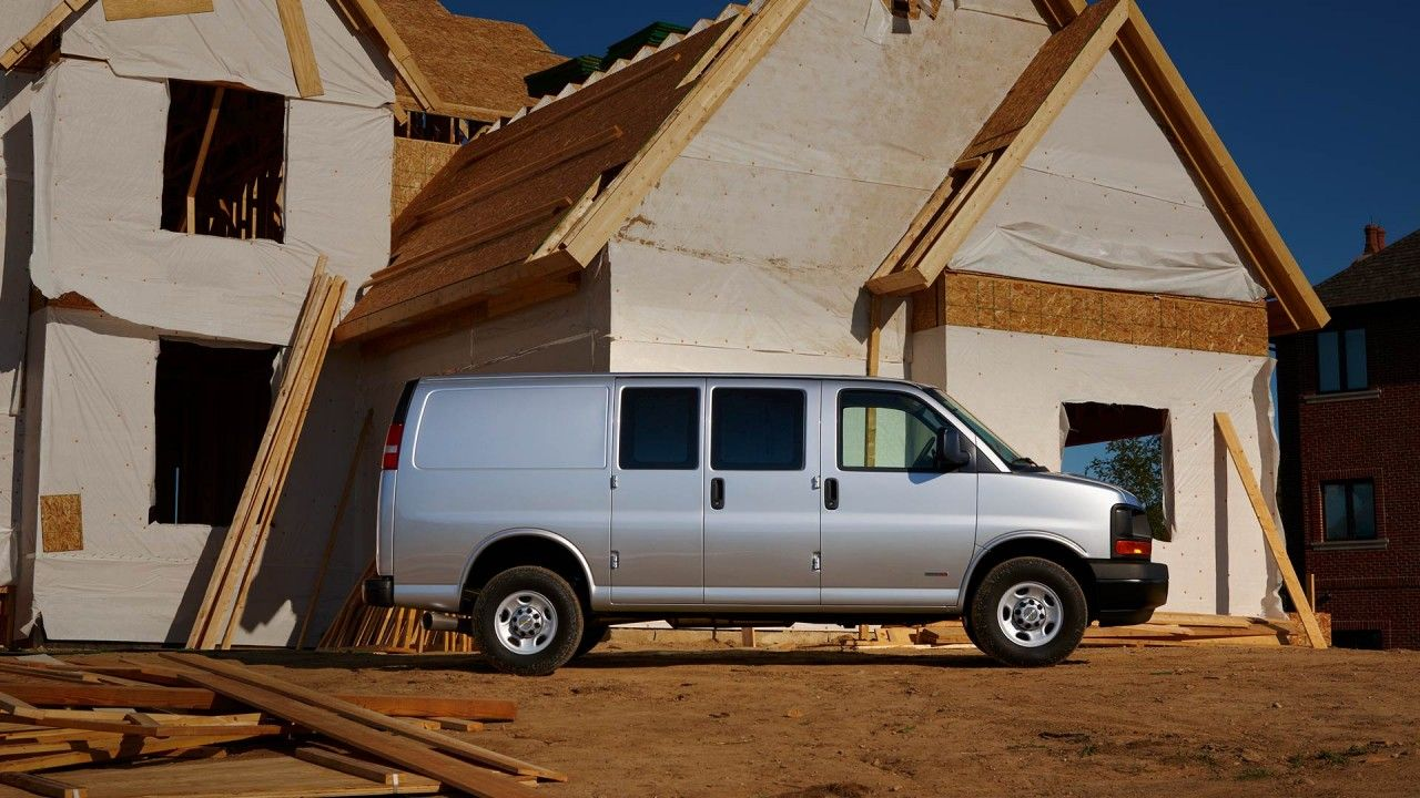 The Chevy Express 3500 Cargo Van With Duramax 6 6l Turbo Diesel V8
