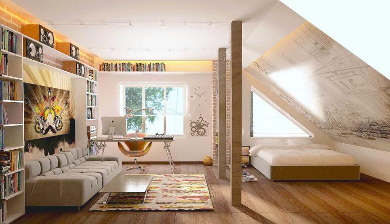 32 Stunning Converted Attic Spaces Remodel Bedroom Attic Design Attic Bedrooms