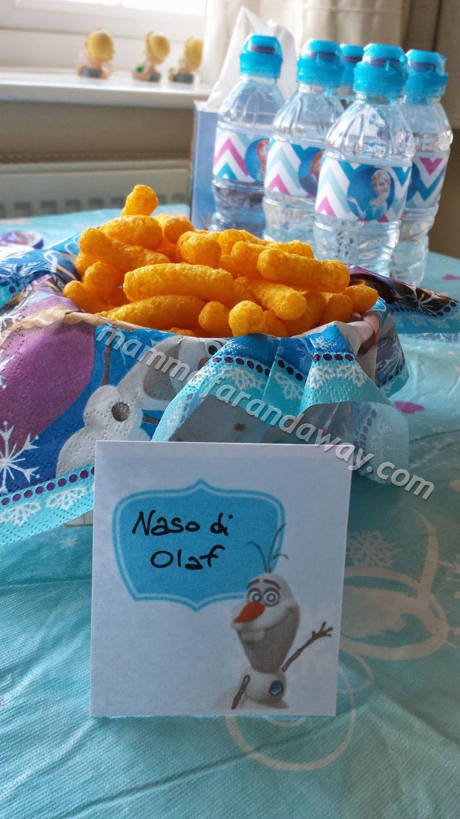 Idee per il buffet della festa di compleanno Frozen | Festa a tema