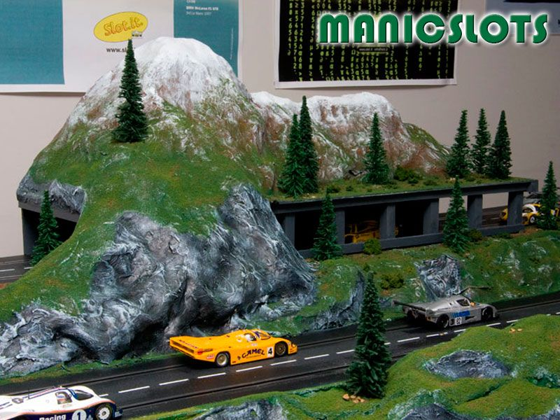 Slot Car Scenery, how-to build