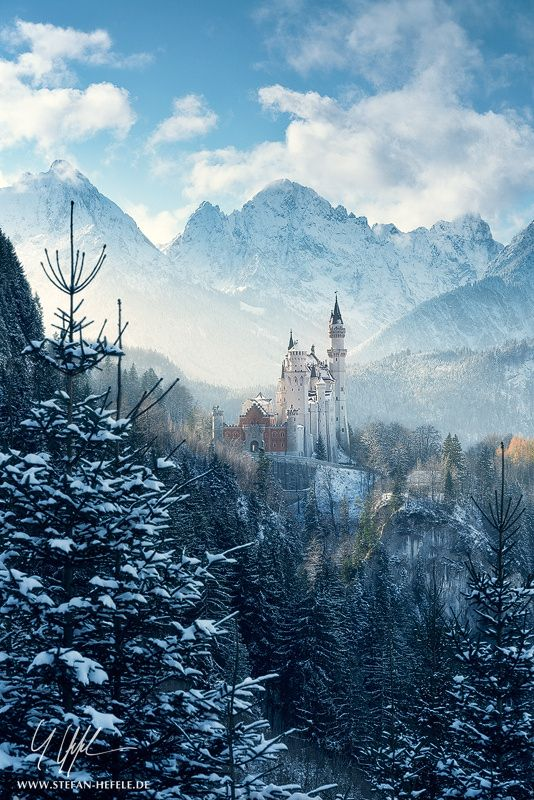 ~~Winter Fairytale   Neuschwanstein Castle, the castle ...