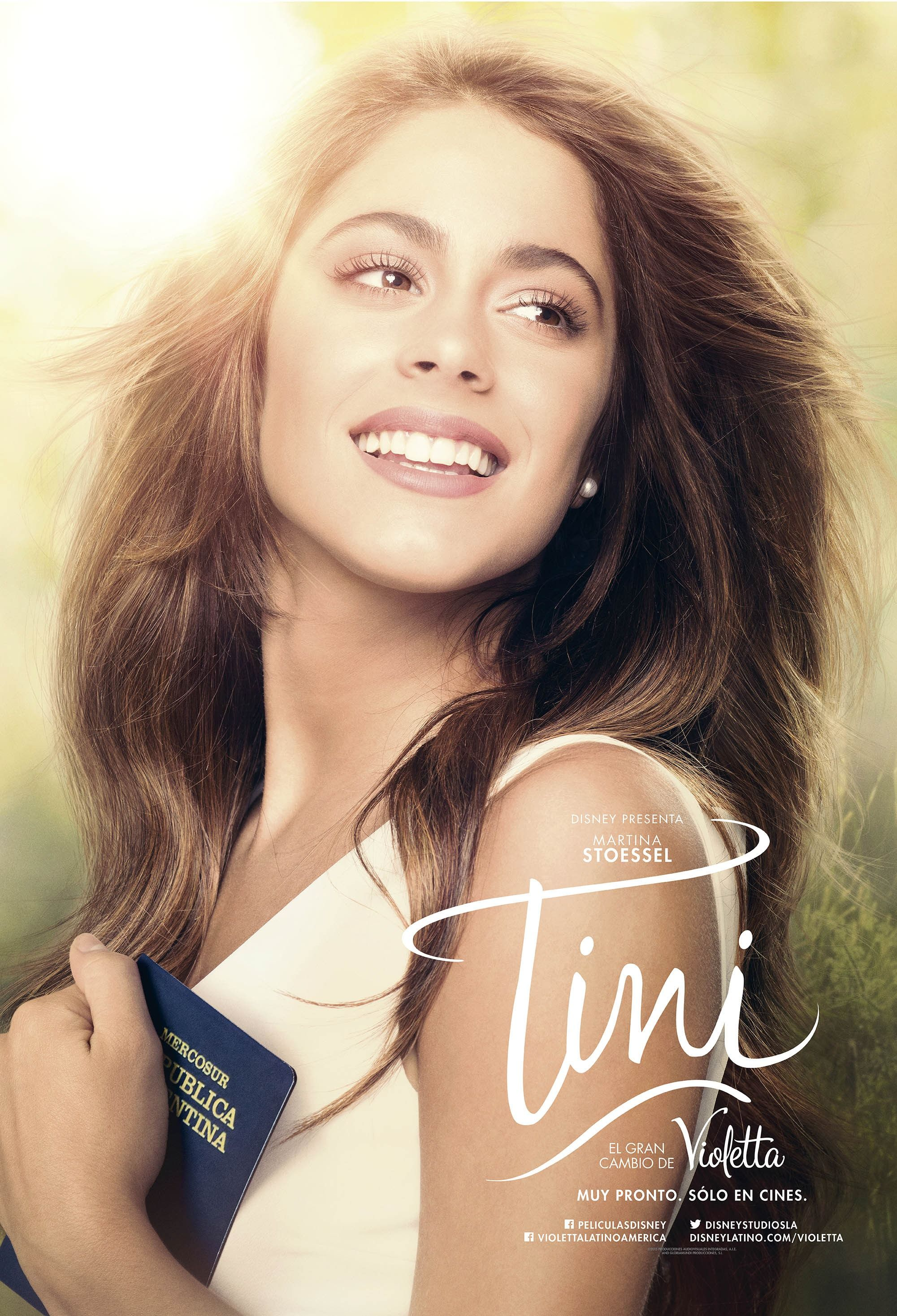 Return To The Main Poster Page For Tini El Gran Cambio De Violetta 1 Of 12 Martina Stoessel Celebrities Movies