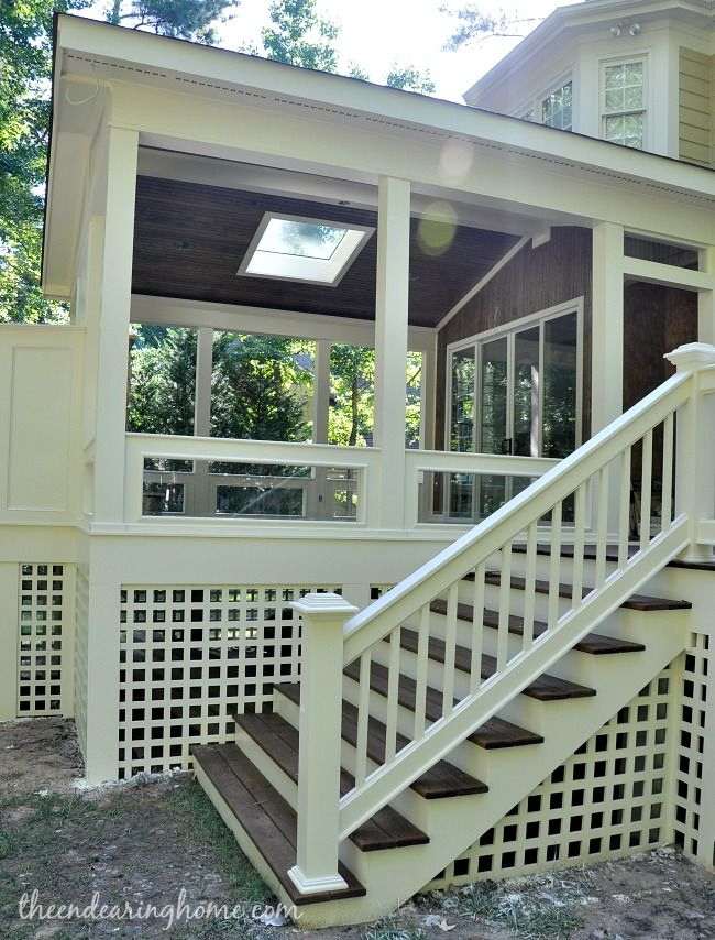 Turning Our Back Porch Dreaming Into A Reality Part 3 House With Porch Porch Design Building A Porch