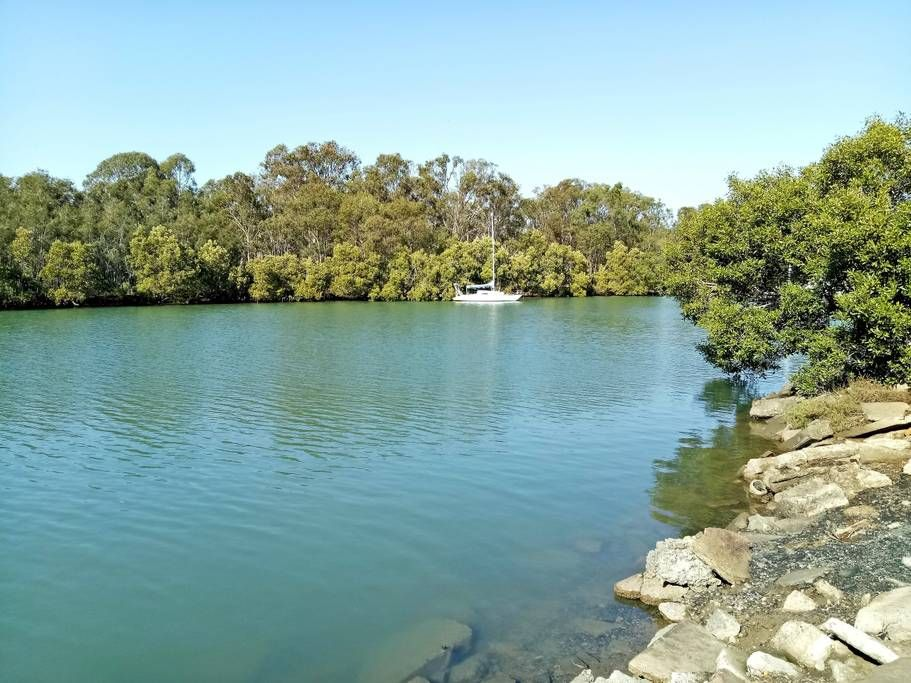 Cabbage Tree Creek Fenced in yard, Timber deck, Vacation