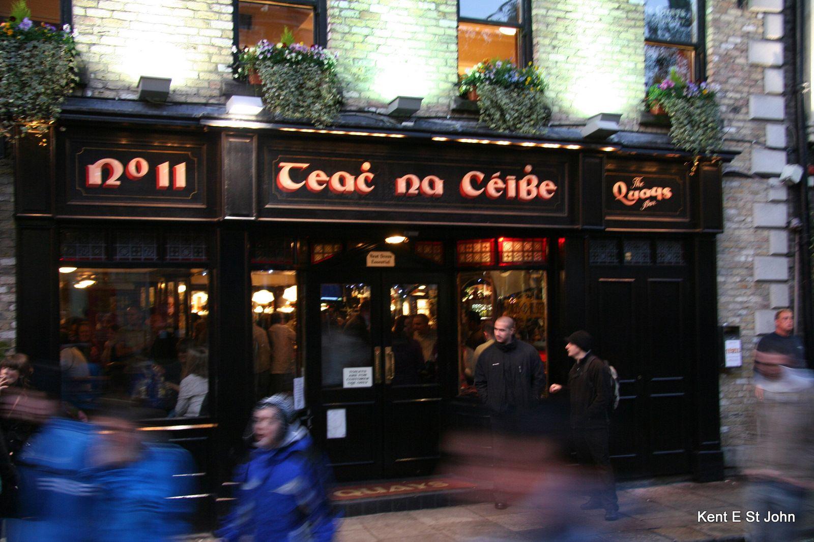 Dublin's Pubs, Giunness and Job Security Dublin pubs
