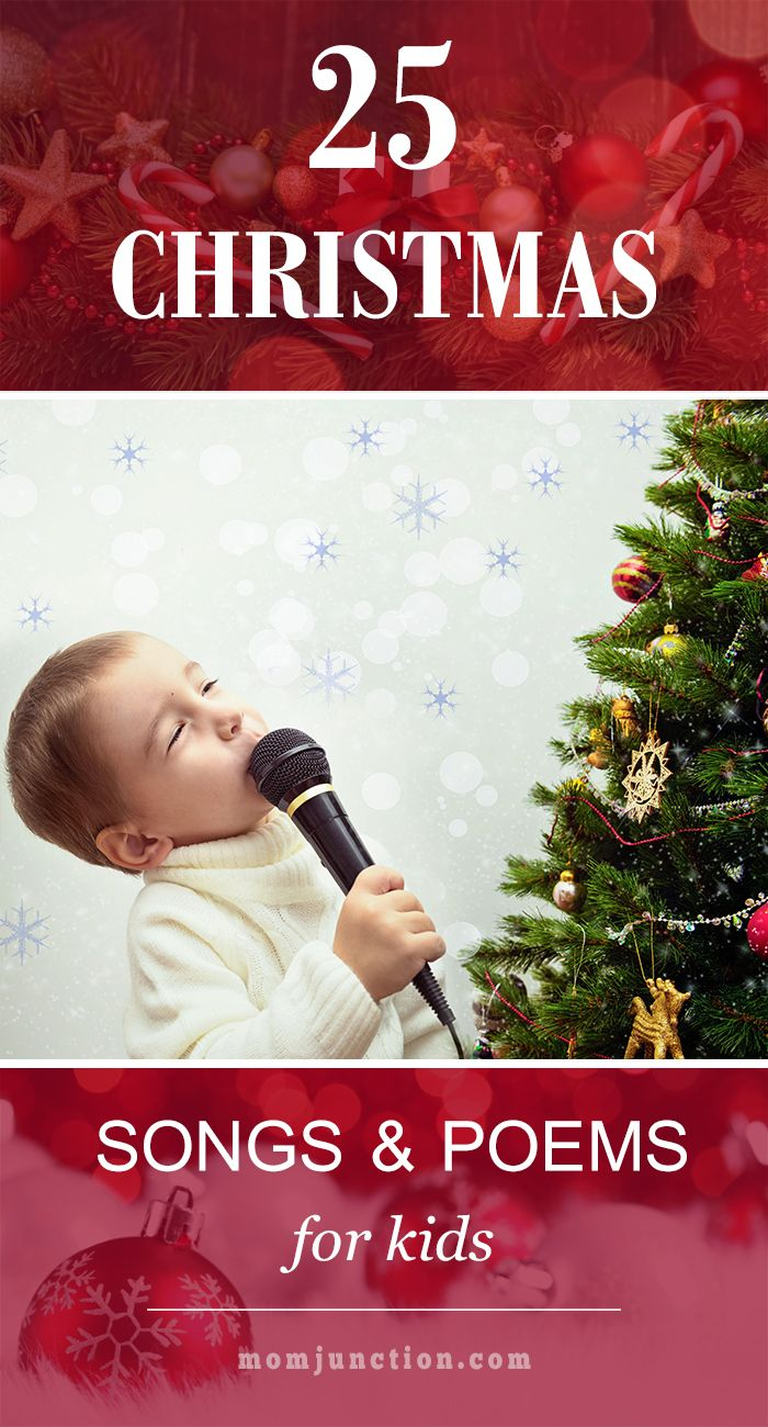 25 Christmas Songs, Poems And Carlos For Kids | Kid Blogger Network ...