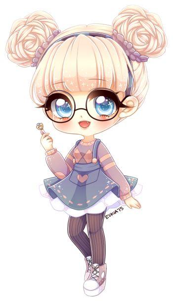 C Zugelpop Chibi Girl Drawings Cute Anime Chibi Kawaii Chibi