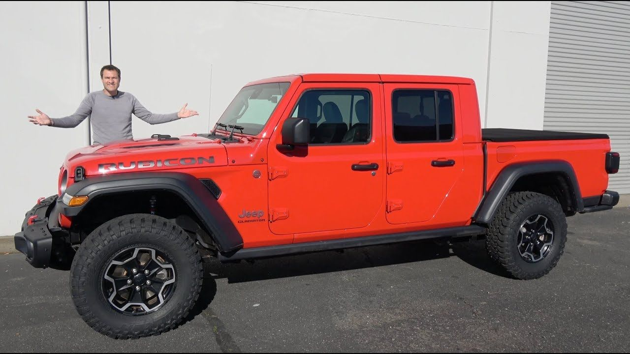 2020 Jeep Gladiator Is The Best New Truck Xe Jeep Honda