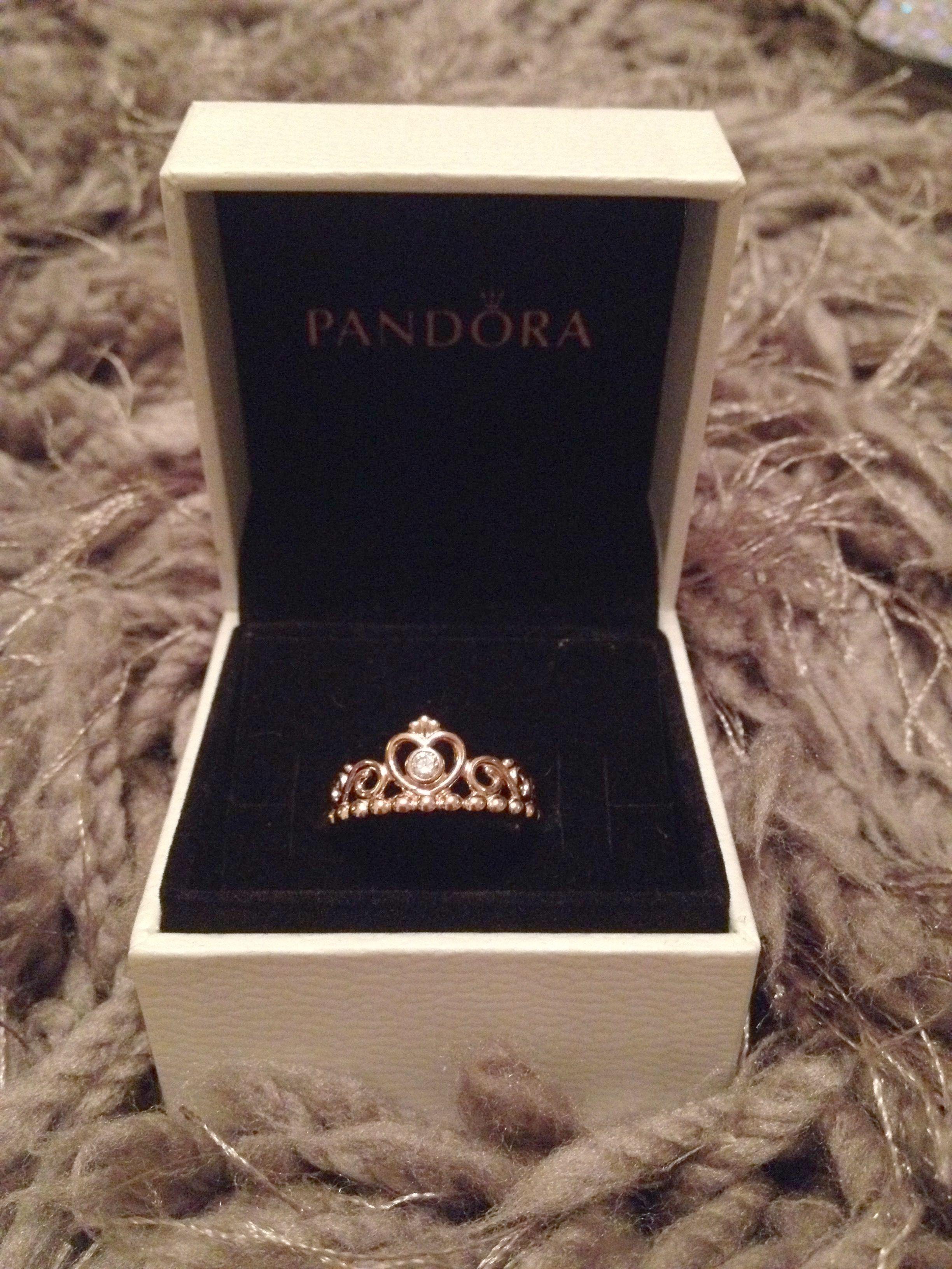 dcd5c4fed Pandora Rose Gold Heart Earrings Pandora Diamond Promise Rings ...