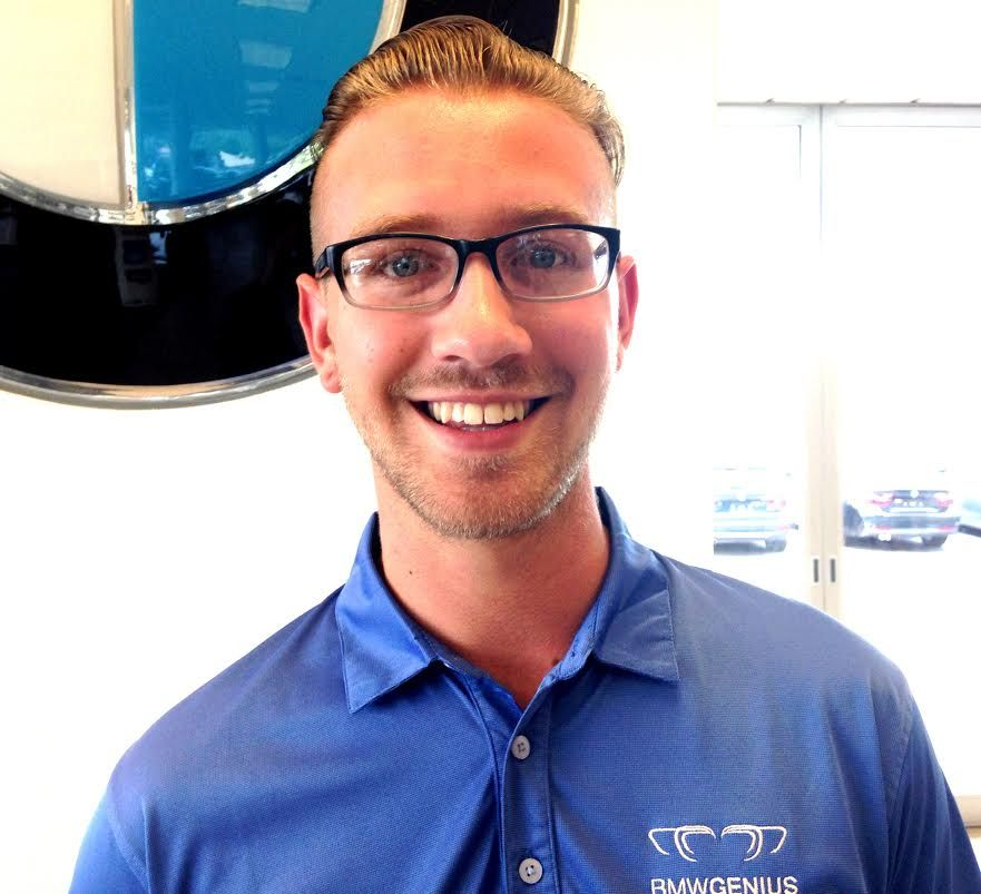 Cody Frazier is one of Moses BMW's resident BMW Geniuses