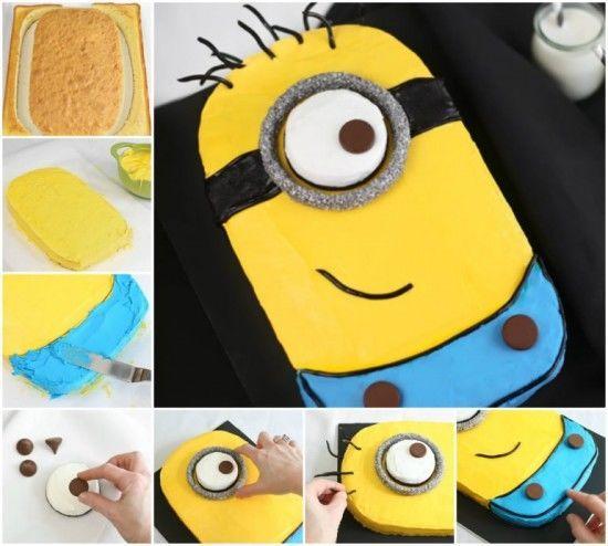 Admirable Diy Minion Sheet Cake Cake Recipe Recipes Cake Recipes How To Funny Birthday Cards Online Alyptdamsfinfo