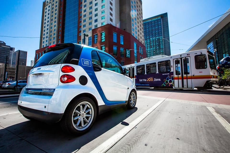 Use Car2go Denver For Just 38 Cents Per Minute Hundreds Of Cars