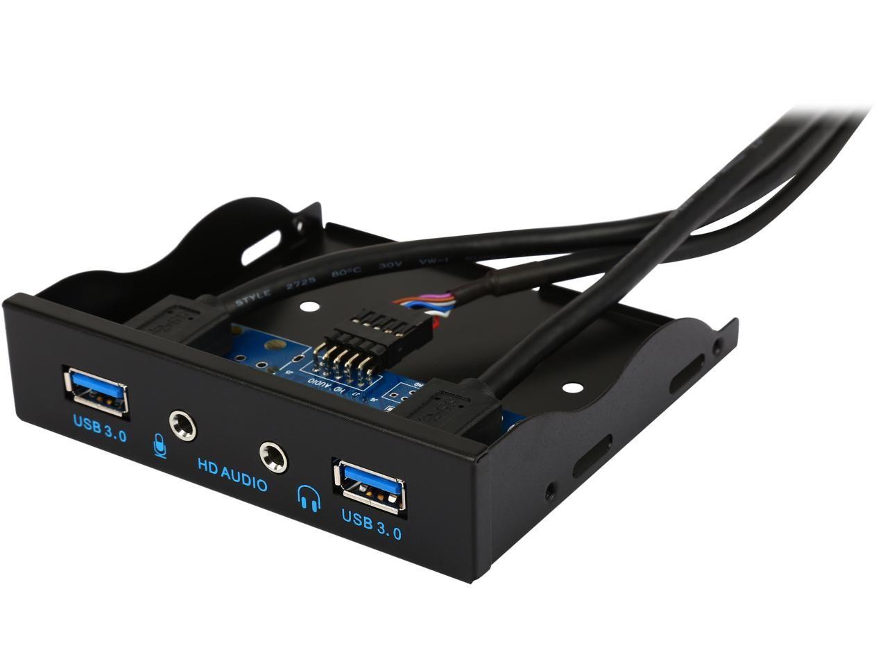 Coboc 3 5fp U3 20pspl2a Dual Ports Usb 3 0 To 20pin Header 3 5
