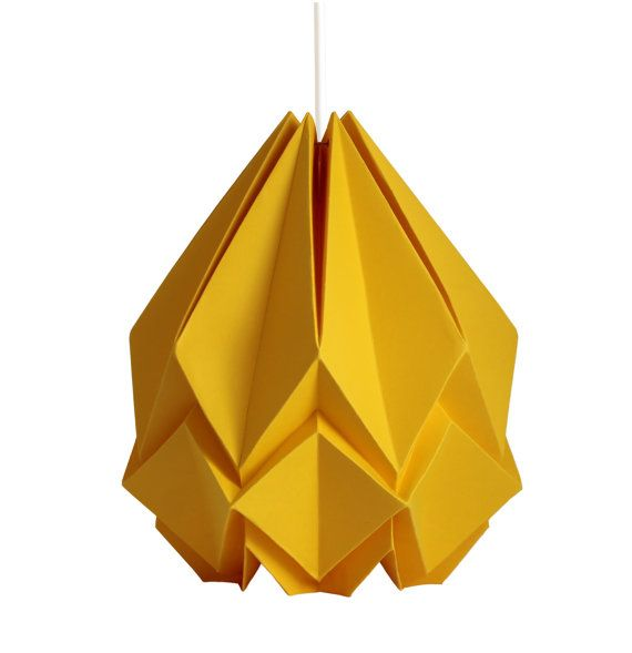 HANAHI Buttercup Yellow fashion project Pinterest Origami
