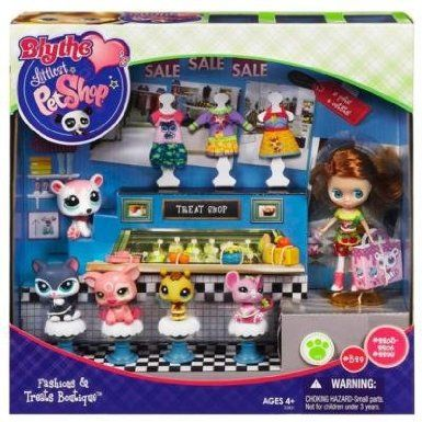 Amazon Com Littlest Pet Shop Blythe Treat Shop Toys Games