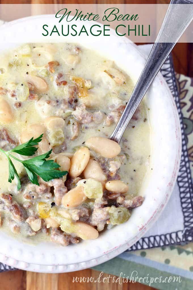Photo of Salsa de Frijoles Blancos Chile | Recetas de platos