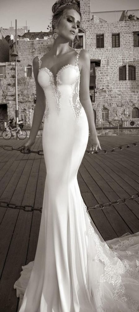Y Mermaid Wedding Dress Sleeveless Backless Lace Lique Formal Bridal Gown In Dresses Ebay