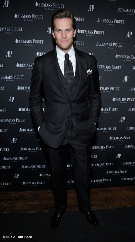 7cca5debd66a Tom Brady in Tom Ford. Does it get better than this  I think NOT ...