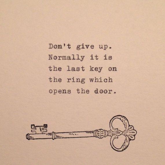 Inspirational Quote Typed On Typewriter Typewriters Inspirational