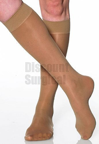 bbc47a840 A107 Absolute Support Sheer Knee High 8-15 mmHg Closed Toe. Super Sheer  Mild Support Knee High 8-15mmHg Closed Toe – Sandal foot (No reinforcement)