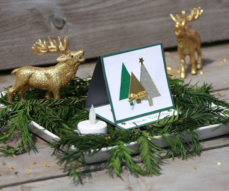 Weihnachtskarten basteln und gestalten auf for Originelle weihnachtskarten basteln