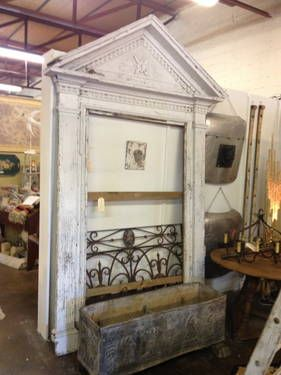 Antique Door Surround 2 400 Antique Door Antique Doors Antiques