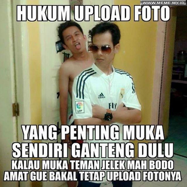 Hukum upload foto MemeLucu MemeKocak GambarLucu