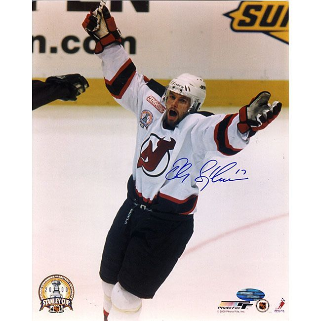 Steiner New Jersey Devils Peter Sykora 8x10-inch Scoring Goal Autographed Photo