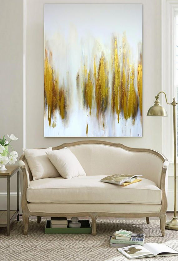 Large gold painting brass bronze abstract original canvas artwork contemporary art also best wall decor images on pinterest mixed media rh