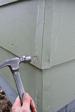 nailing metal corner caps tips pinterest corner metals and