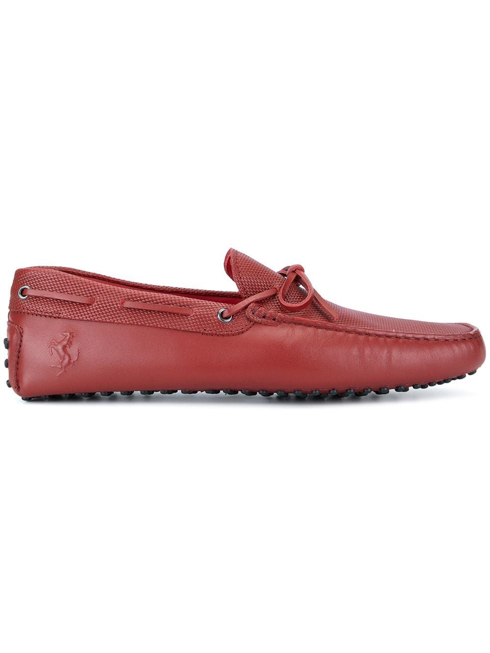 54f8f74d370 TOD'S TOD'S TOD'S FOR FERRARI GOMMINO DRIVING SHOES - RED. #tods #shoes