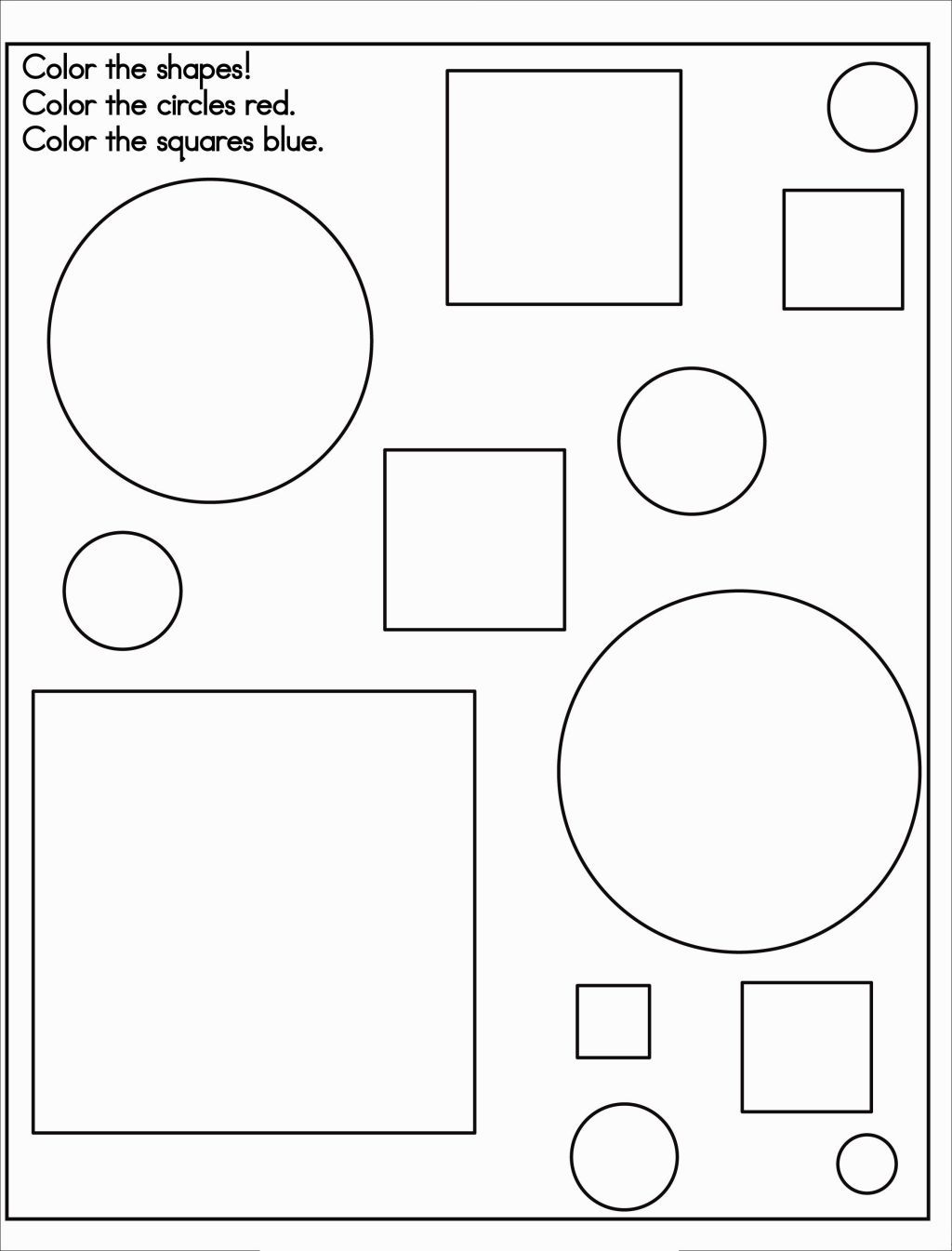 Coloring Page Shapes | Coloring Pages | Pinterest | Shapes