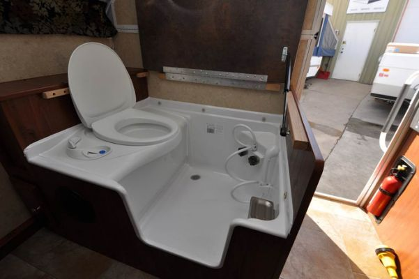 Rv Bathroom Shower Combo Www Galleryhip Com Toilet Shower