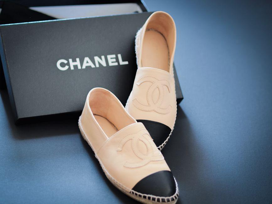 New in! Chanel espadrilles | Alpargatas chanel, Alpargatas, Zapatos