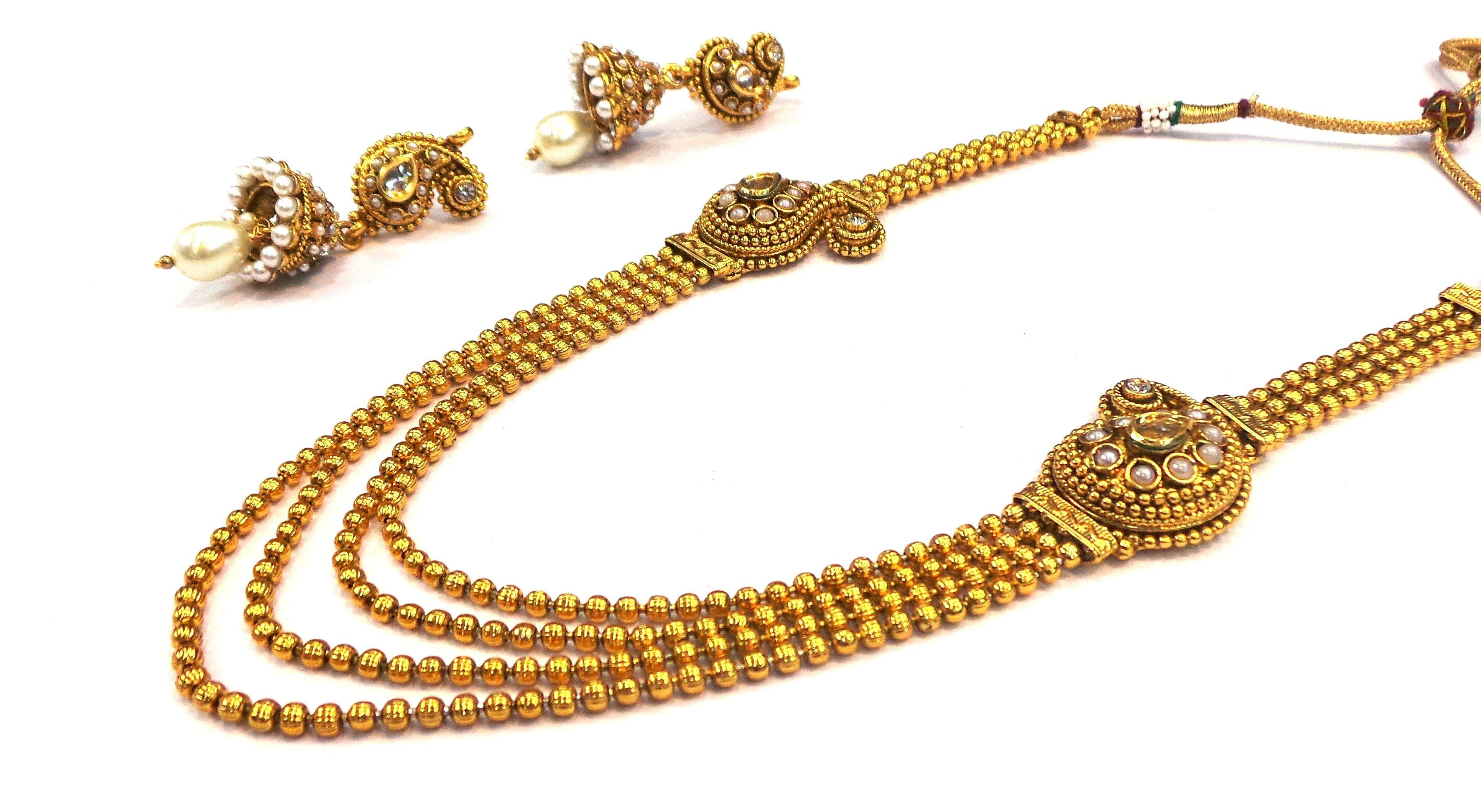 22K Gold Designer Bridal Rani Haar | Jewellery | Pinterest ...