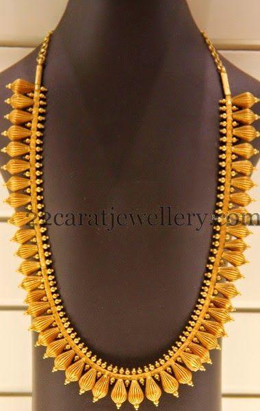 Large Gold Mala By Kirtilal Jewellers Indian Wedding JewelleryTemple
