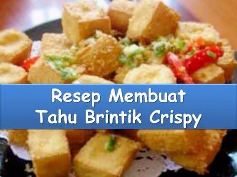 Resep Dan Cara Membuat Tahu Brintik Crispy Nyokmasak Http Youtu Be Encdvrsct2c Resep Masakan Resep Masakan
