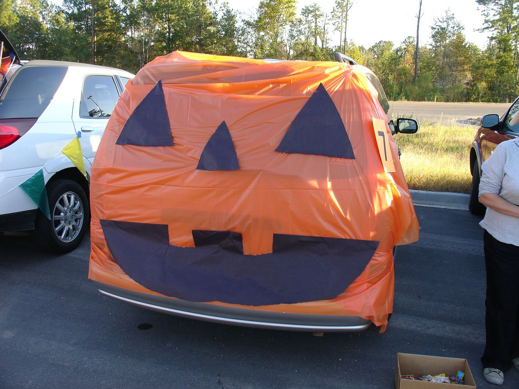 Decorating Car For Halloween Part - 37: Holidays Halloween