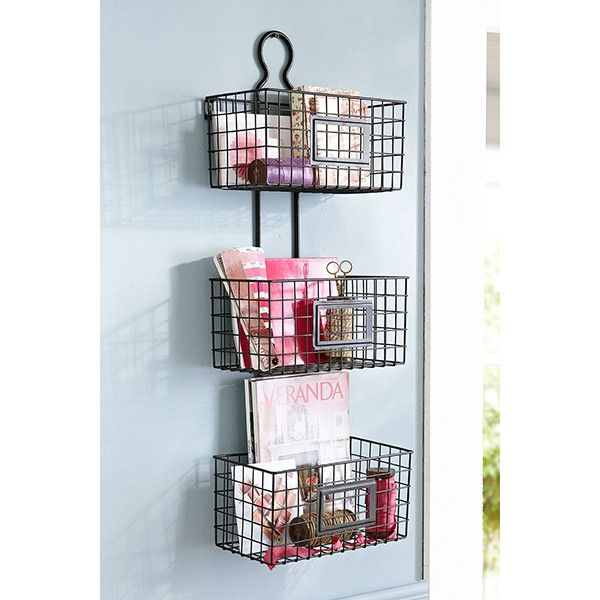 Hanging Baskets Great For Office Or Bathroom Storage In Small