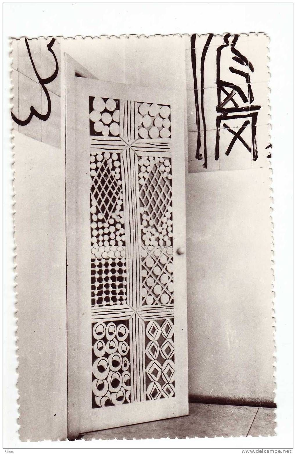cpm henri matisse chapelle du rosaire vence 06 porte du confessionnal paintings home. Black Bedroom Furniture Sets. Home Design Ideas