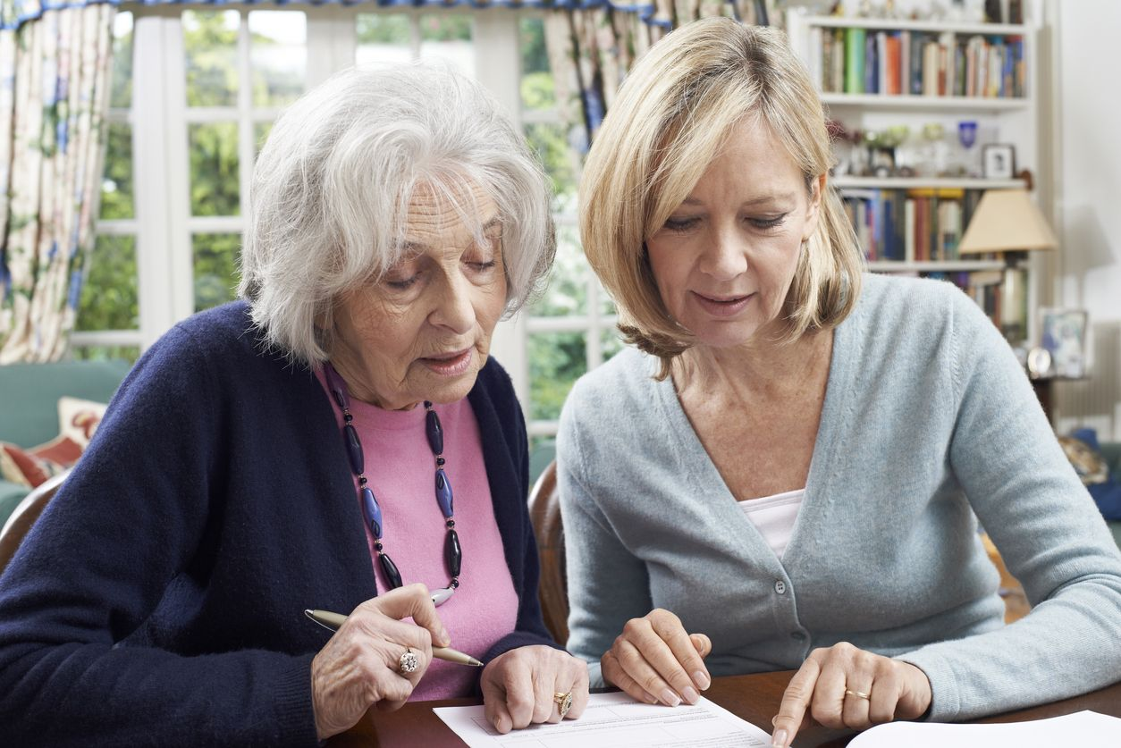 Check Up To Show You Care… Aging parents, Stages of
