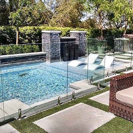 Proven Safety Meets Elegant Style With Our Invisible Glass Pool Fencing Get A Quick Hassle Free Quote On Your Projec Pool Fence Glass Pool Glass Pool Fencing